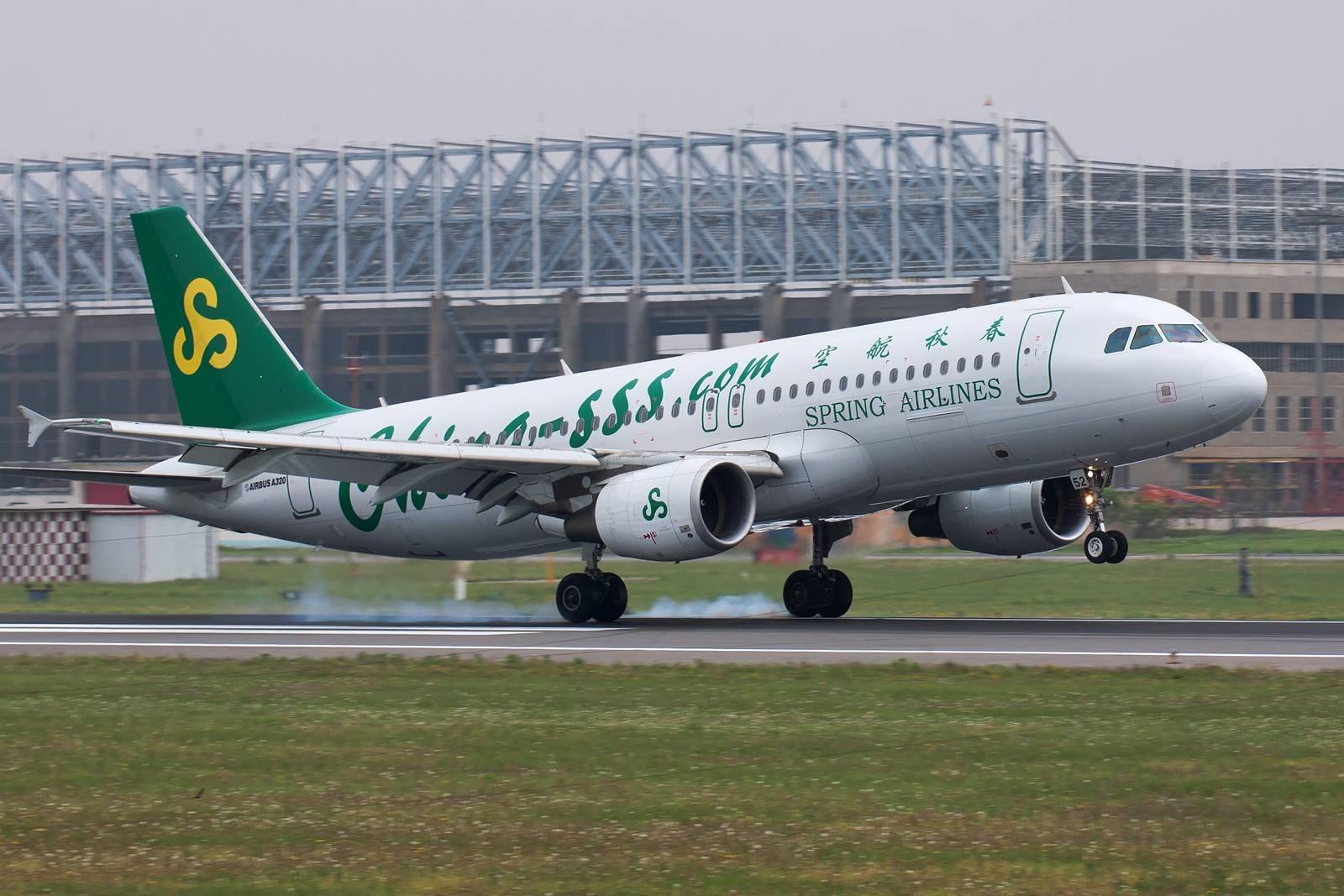 春秋航空601021